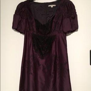 Purple Beaded Dress